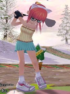 ピンク髪で優等生メガネのエリカだ!