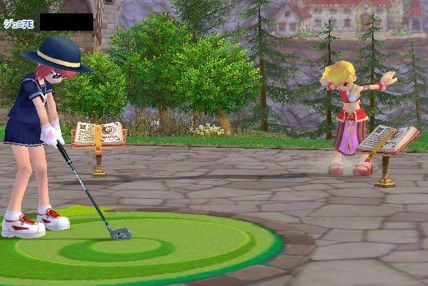 タンプーの真似っこをするロロ姫だ!
