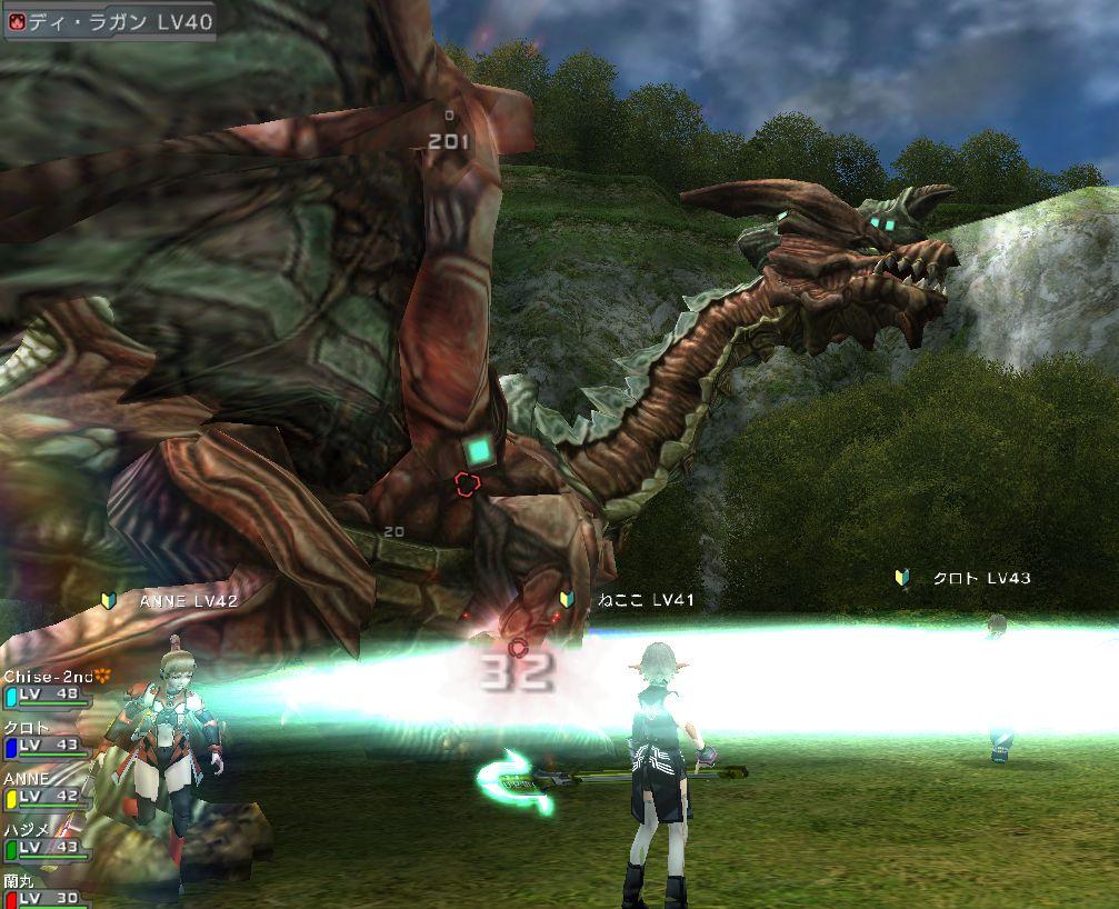 今度はドラゴンAマップだ!ドラゴンも強いけど、それよりも道中の敵の強さが厳しいぞ!