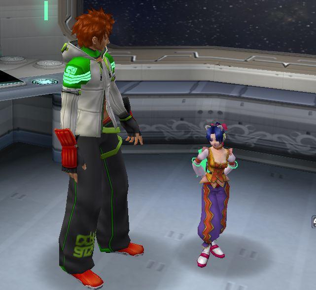 イーサンの股ぐらいまでしか背丈がないぞ!GH-420!(ちょうどいい背丈だとか言ってる人はダメな人です(笑))
